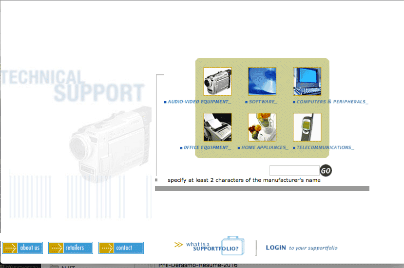 Support City Home Page