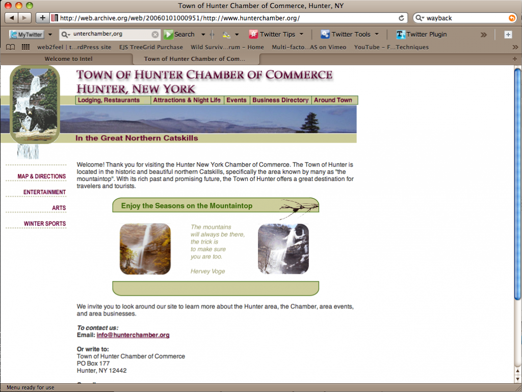 Hunter Chamber of Commerce