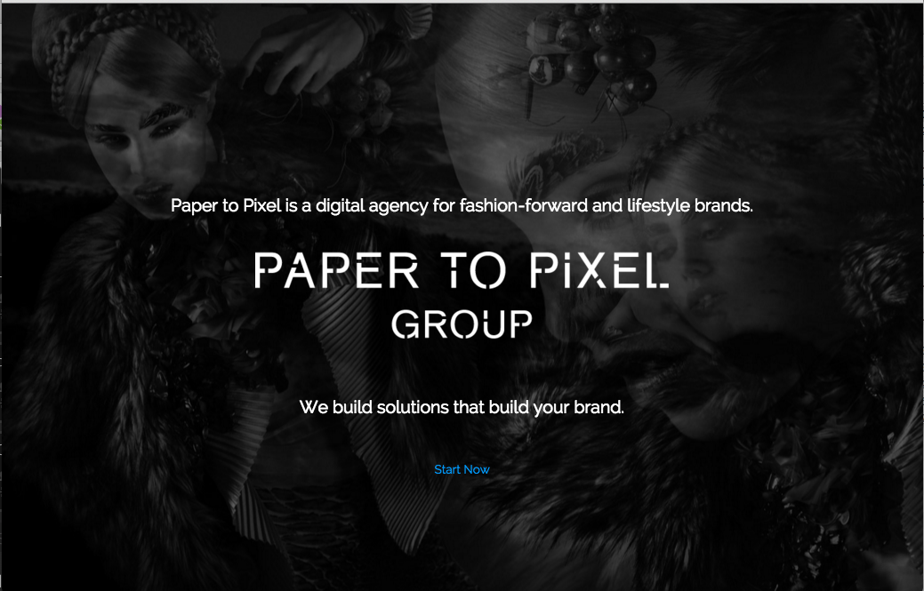Paper to Pixel Group web site