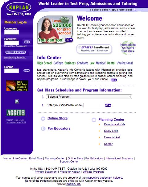 Kaplan Courses